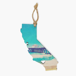California Ornament / Gift Tag Ornament Tabula Rasa Essentials Daybright