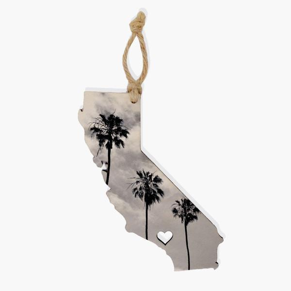California Ornament / Gift Tag Ornament Tabula Rasa Essentials Oblique