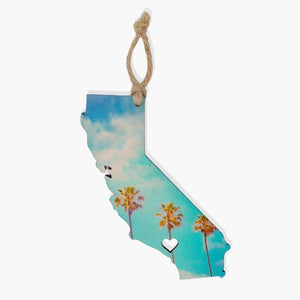 California Ornament / Gift Tag Ornament Tabula Rasa Essentials Pinnacle