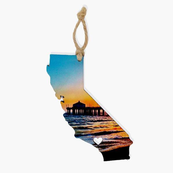 California Ornament / Gift Tag Ornament Tabula Rasa Essentials Sweet Flame