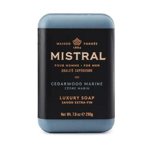 Cedarwood Marine Bar Soap Bar Soap Mistral
