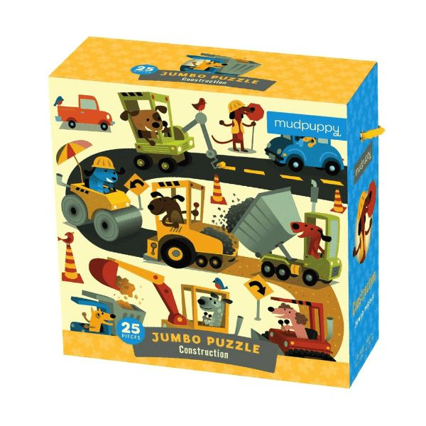 Construction Jumbo Puzzle Puzzle Hachette Book Group