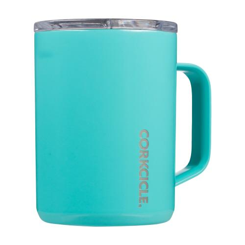 Corkcicle Turquoise Coffee Mug - TEMPORARILY SOLD OUT Coffee Mug CORKCICLE.