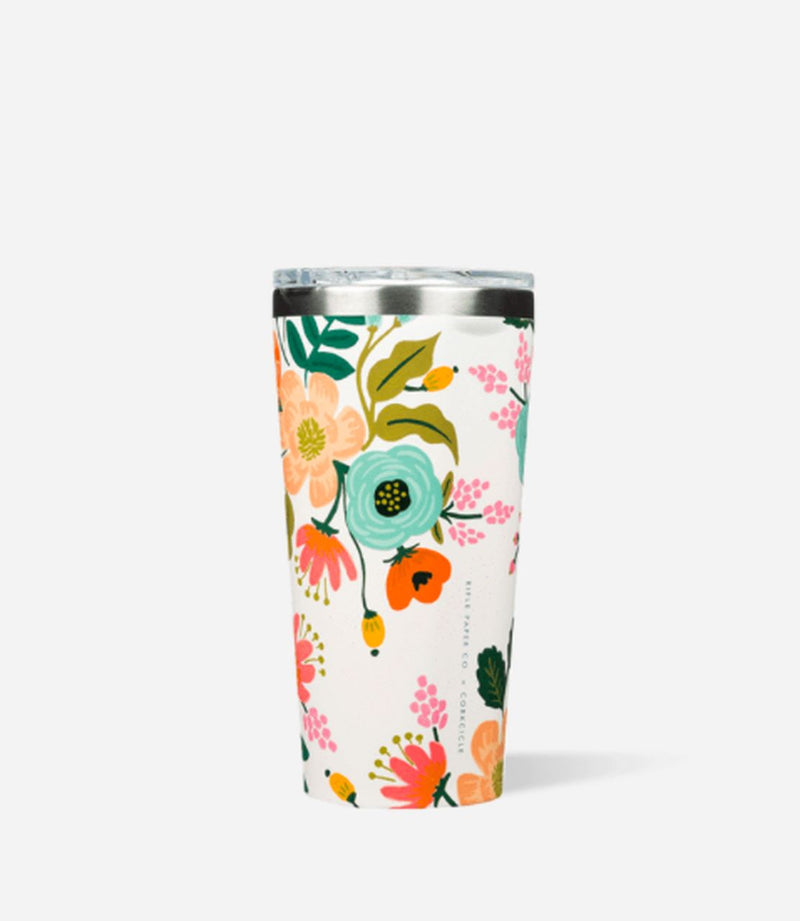 Cream Lively 16oz Tumbler Tumbler CORKCICLE.