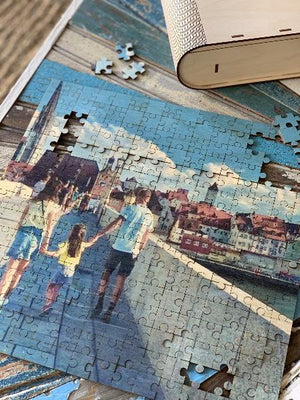 Custom Piece 250 Piece MP Puzzle Puzzle Simply Grateful