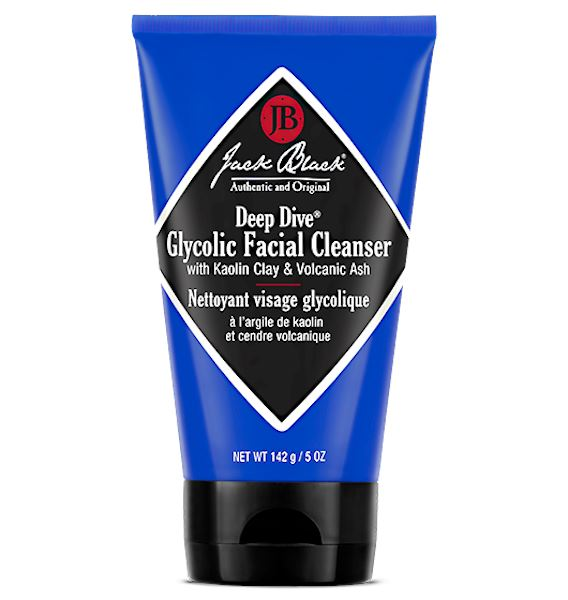 Deep Dive Glycolic Facial Cleanser Face Wash Jack Black