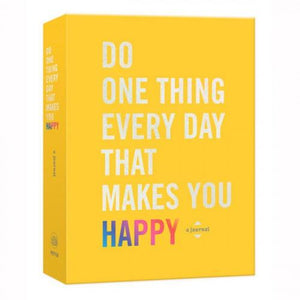 Do One Thing Everyday To Make You Happy Inspiration Book Random House