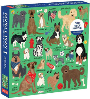 Doodle Dogs and Other Mixed Breeds Puzzle Puzzle Chronicle