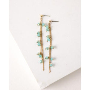 Dot Sea Crystal Earrings Earrings Tabula Rasa Essentials