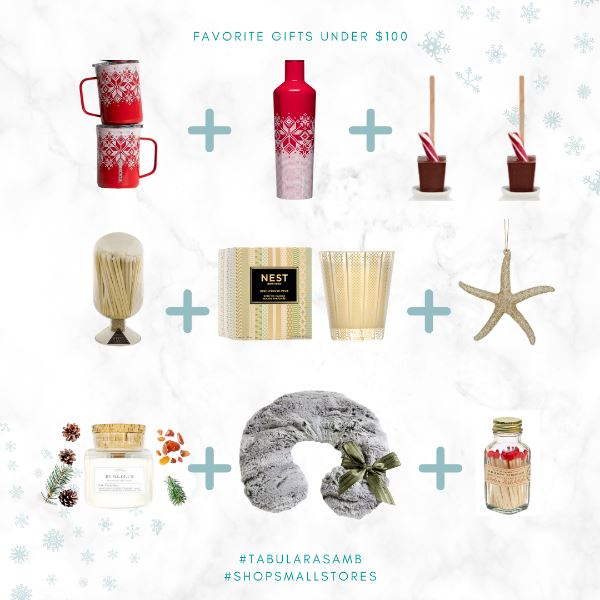 Favorite Gifts Under $100 Holiday Gifts Tabula Rasa Essentials