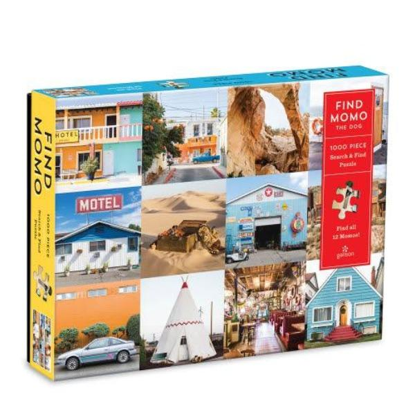Find Momo 1000 Piece Puzzle - TEMPORARILY SOLD OUT Puzzle Hachette Book Group
