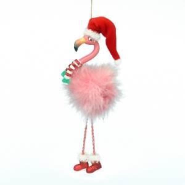 Flamingo Ornament Holiday Ornament Tabula Rasa Essentials