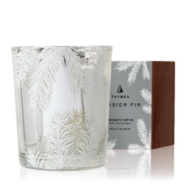 Frasier Fir Statement Boxed Votive Holiday Candles The Thymes