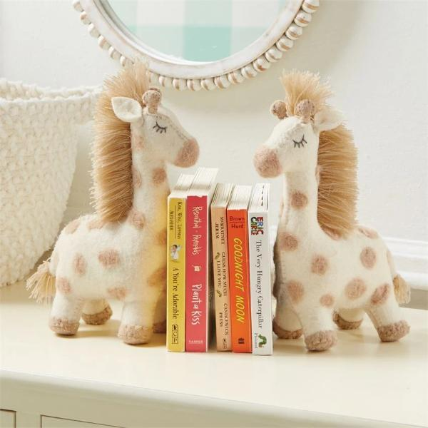 Giraffe Bookend Book End Tabula Rasa Essentials