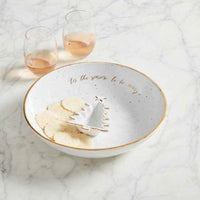 Gold Splatter Chip and Dip Set Serveware Tabula Rasa Essentials