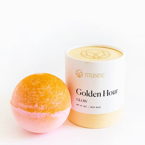 Golden Hour Bath Bomb - ARRIVING NEXT WEEK Bath Salt Musee