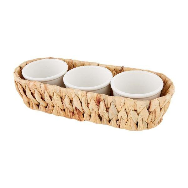 Hyacinth Dip Bowl Set Serveware Tabula Rasa Essentials