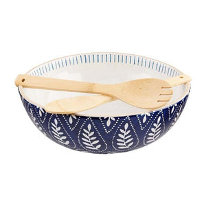 Indigo Serving Bowl Set Serveware Tabula Rasa Essentials