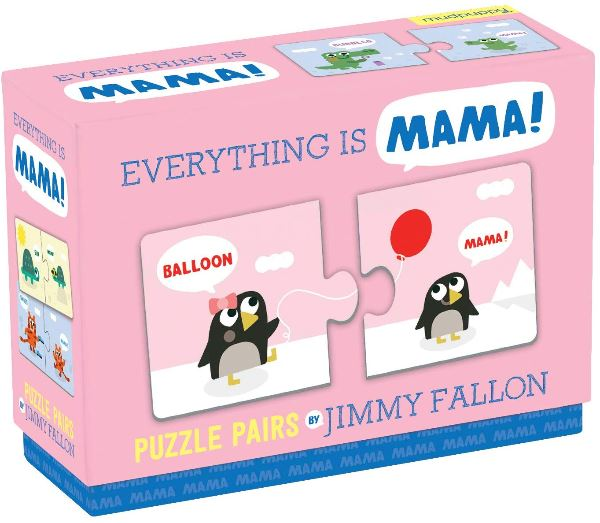 Jimmy Fallon Everything is Mama Puzzle Pairs - TEMPORARILY OUT OF STOCK Puzzle Hachette Book Group