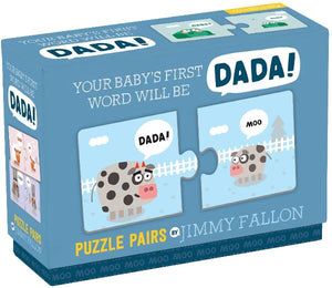 Jimmy Fallon Your Baby's First Word Dada Puzzle Hachette Book Group