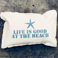 Life Is Good Baby Rectangle Pillow Pillow Tabula Rasa Essentials Aegean