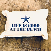 Life Is Good Baby Rectangle Pillow Pillow Tabula Rasa Essentials Hale Navy