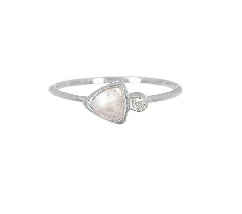 LIMITED STOCK Delicate Triangle Ring Jewelry Puravida