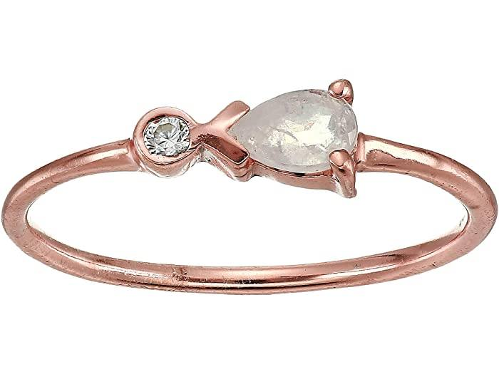 LIMITED STOCK Rose Gold Pear Ring Jewelry Puravida