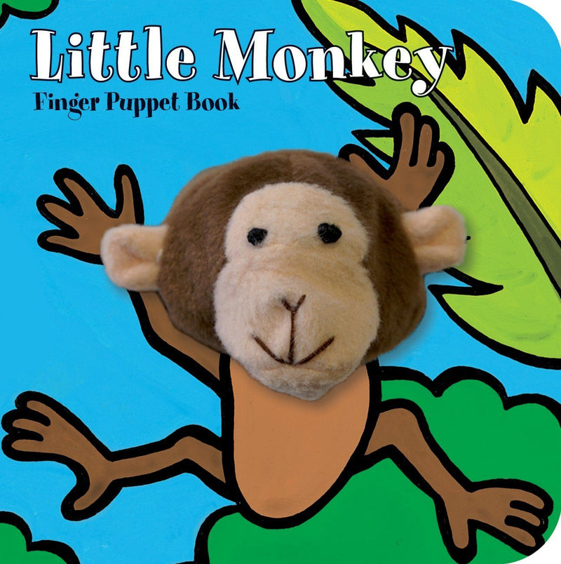 Little Monkey Finger Puppet Book Kids Books Tabula Rasa Essentials