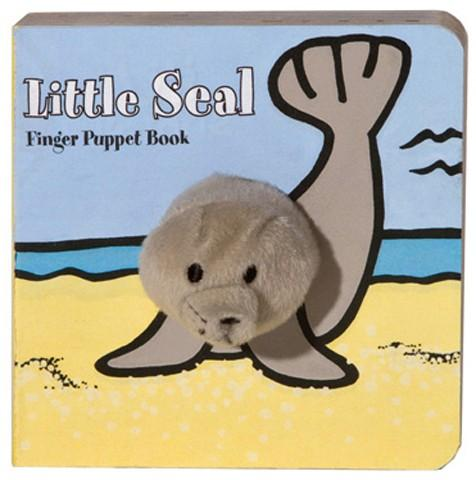 Little Seal Finger Puppet Book - TEMPORARILY SOLD OUT Kids Books Tabula Rasa Essentials