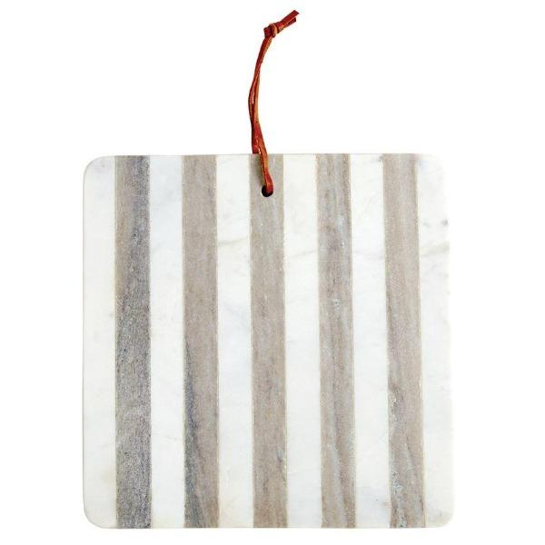 Marble Striped Board Cheeseboard Tabula Rasa Essentials