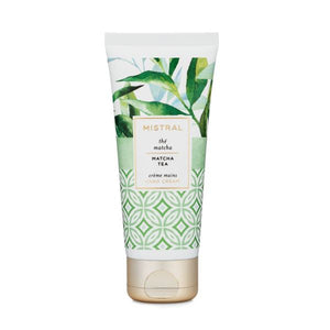Matcha Tea Hand Cream Body Lotion Mistral