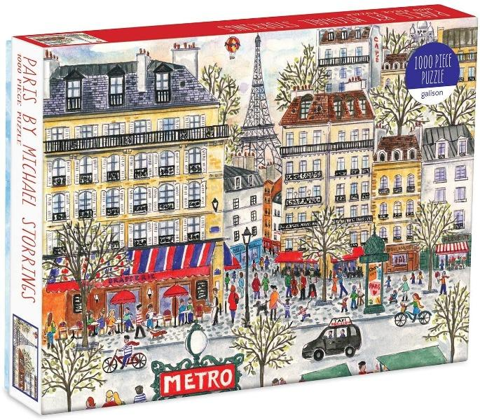 Michael Storrings Paris Puzzle Coloring Book Hachette Book Group
