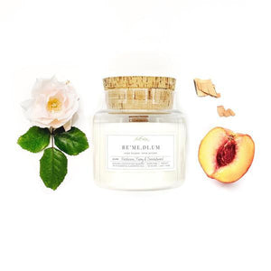 Nectarine Peony Sandalwood 15oz. Candle Candles Remedium