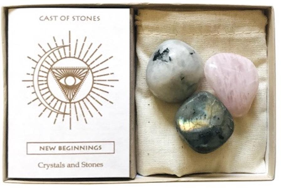 New Beginnings Stones Crystals and Stones Cast of Stones