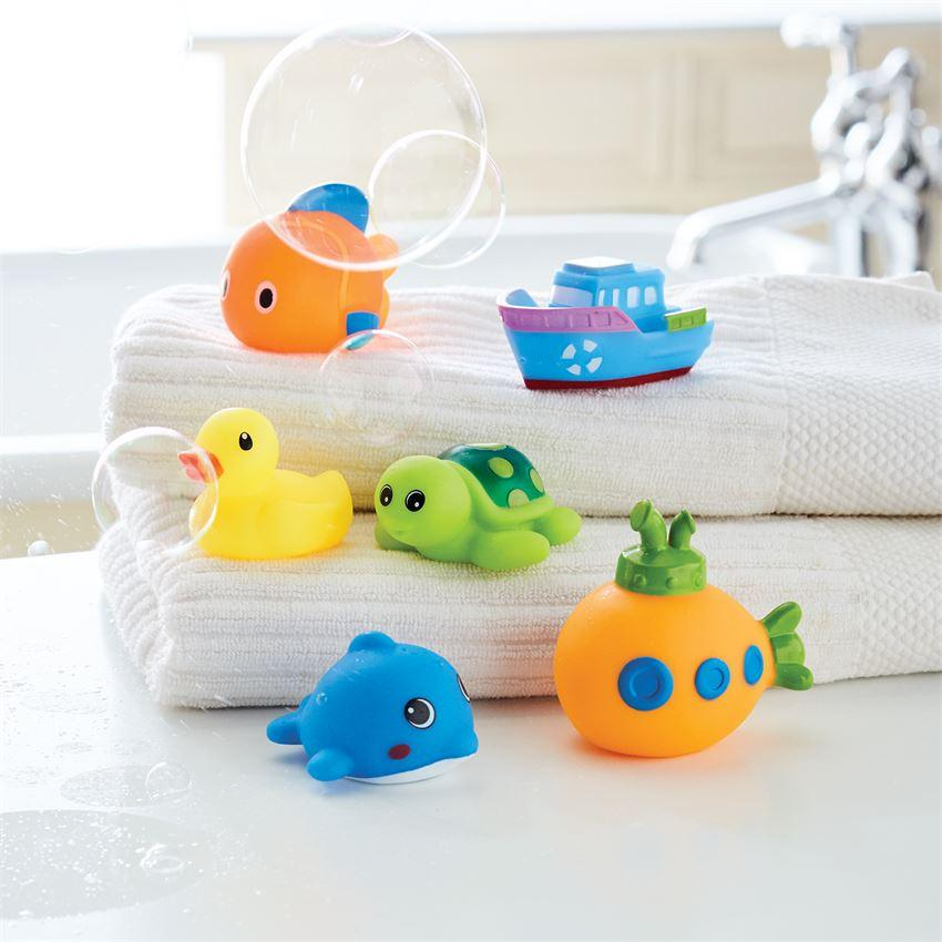 Ocean Friends Bath Set Book End Tabula Rasa Essentials