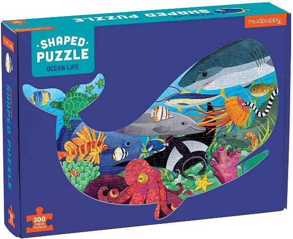 Ocean Life 300 Piece Puzzle - TEMPORARILY SOLD OUT Puzzle Hachette Book Group