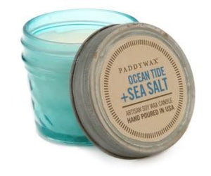 Ocean Tide + Sea Salt Candle - TEMPORARILY SOLD OUT Candles Paddywax 3oz