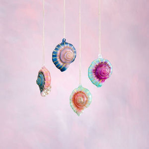 Ombre Shell Ornament Holiday Ornament Tabula Rasa Essentials