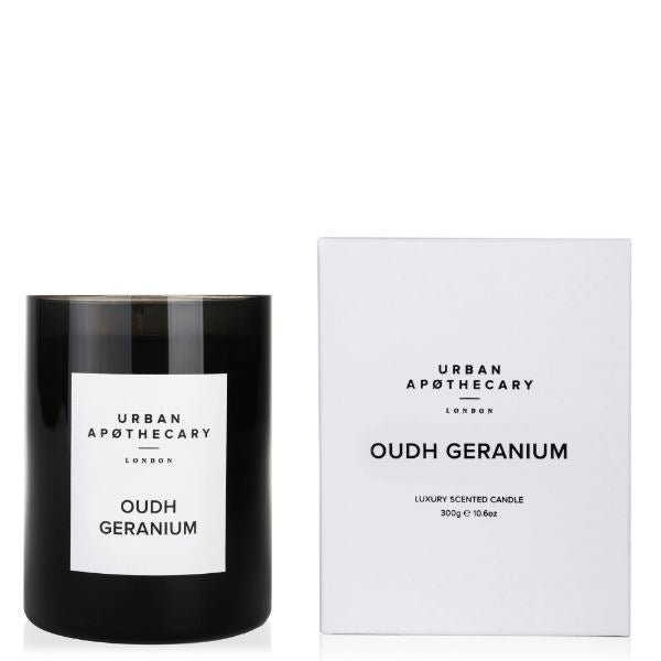 Oudh Geranium Candle Candles Urban Apothecary