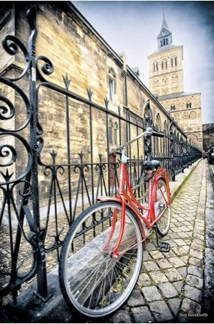 Red Bicycle Roy Wall Art Wall Art Tabula Rasa Essentials
