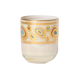 Regalia Cream Dbl Old Fashion Glassware Vietri