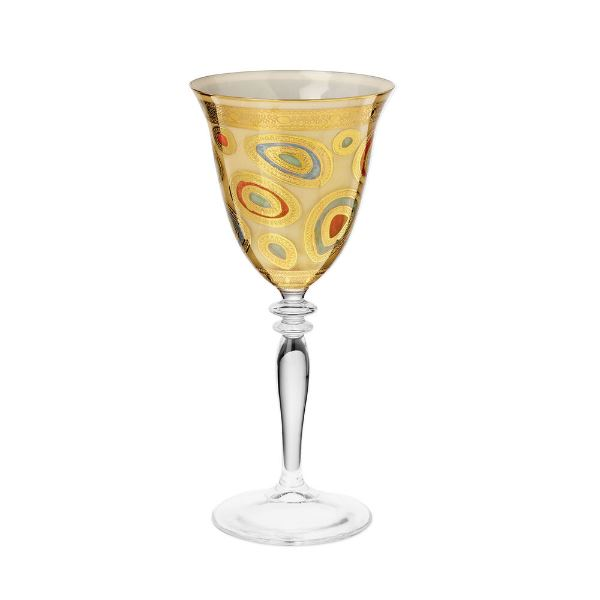 Regalia Cream Wine Glass Glassware Vietri
