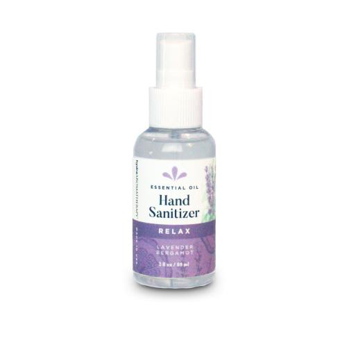 Relax Essential Oil Spray Hand Sanitizer Hand Sanitizer Hydra Aromatherapy