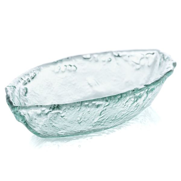 Rustic Boat Spanish Glass Bowl Entertaining Tabula Rasa Essentials