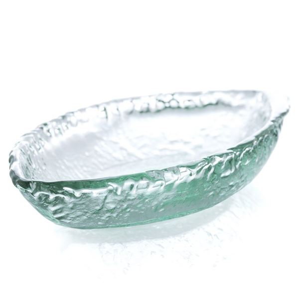 Rustic Boat Spanish Glass Sm Bowl Entertaining Tabula Rasa Essentials