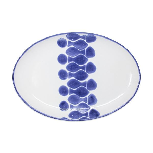 Santorini Fish Oval Platter- TEMPORARILY SOLD OUT Serveware Vietri