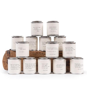 Shine Candle Candles Tabula Rasa Essentials