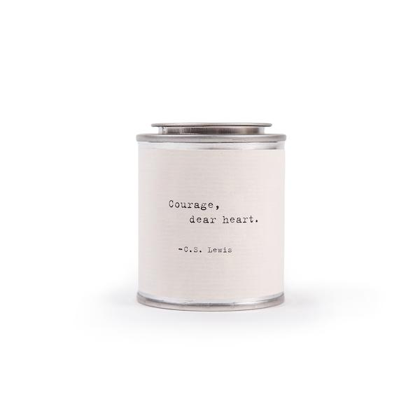 Shine Candle Candles Tabula Rasa Essentials Courage Dear Heart