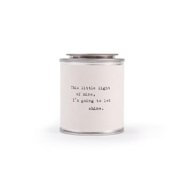 Shine Candle Candles Tabula Rasa Essentials This Little Light